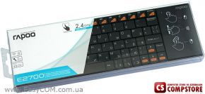 Rapoo E2700 Wireless Multi-media Touchpad keyboard