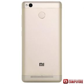 "Xiaomi Redmi 3S 32GB Gold (Qualcomm Snapdragon 430/ 32 GB/ 3 GB/ 5.0"" İPS/ 2 SIM/ 16 MP)"
