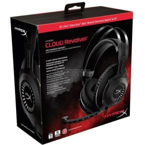 Kingston HyperX Revolver Gaming Headset for PC & PS4 (HX-HSCR-BK/EE)