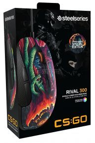 SteelSeries Rival 300 CS:GO Hyper Beast Edition Mouse
