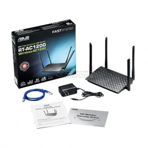 ASUS AC1200 Wireless Dual-Band Router (RT-AC1200)