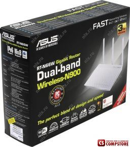 ASUS RT-N66W Dual-Band Wireless-N900 Router 3G/4G