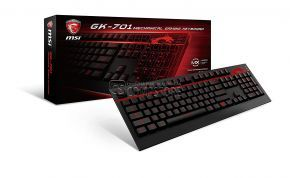 MSI Computer GK-701 Mechanical Gaming Keyboard (S11-04US220-CL4)