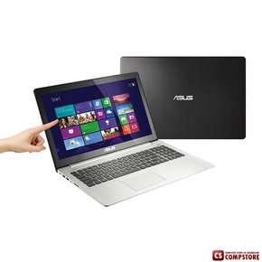 "Ноутбук ASUS VivoBook S551LA-CJ111H (Intel® Core™ i5-4200U/ DDR3 4 GB/ 24 GB SSD/ 750 GB HDD/ Сенсорный 15.6"" LED/ Windows 8.1 SL/ Bluetooth/ Wi-Fi/ DVD RW)"