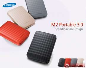 USB External HDD Samsung M2 Portable 3.0 (750 GB USB 3.0 Model HX-M750TAB/G)