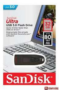 USB Flash Drive Sandisk Ulta 32 GB (USB 3.0)
