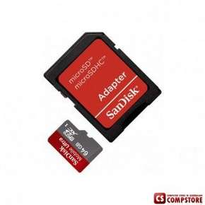 microSD Sandisk Ultra 64 GB Class 10 Speed Up to 30 MB/s (SDSDQUA-064G-U46A)