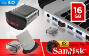 SanDisk Ultra Fit 16 GB USB 3.0 Flash Drive
