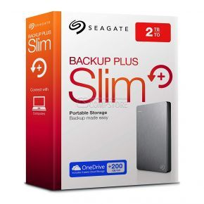 External HDD Seagate Backup Plus Slim 2 TB (STDR2000201)