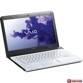 Ноутбук Sony Vaio SVE14114FXW  (Intel Core i5-2450M 2.50GHz / 4GB DDR3 / 750GB HDD / DVD±R/RW / Intel HD Graphics 3000 / 802.11n / Bluetooth 4.0 / 1.3MP Webcam / USB 3.0 / Windows 7 HP)