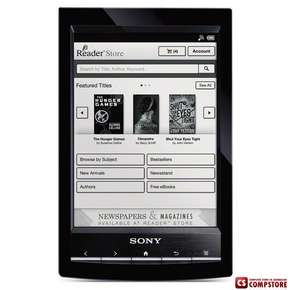 "Электронная Книга Sony E-Book Reader Wi-Fi PRS-T1 (black) (1 GHz/ 512 MB/ 2 GB/ 6""/ Wi-Fi)"