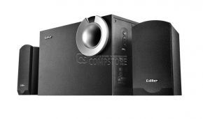 Edifier P2060 2.1 Classic Speaker system with eye-popping bass reflex port. (USB Flash Player)