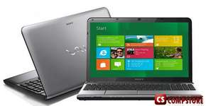 "Ноутбук SONY VAIO E Series SVE1512GCXS (Intel® Core™ i5-3210M/ DDR3 8 GB/ 500 GB HDD/ 15.6"" LED/ Bluetooth/ Wi-Fi/ Windows 7)"