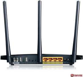 Модем TP-Link TD-W8970 ADSL2+ Modem Router Wireless N 300 МБит/ Gigabit Ethernet