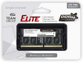 DDR4 Team Group Elite SoDimm 16 GB 2666 MHz (TED416G2666C19- S01)