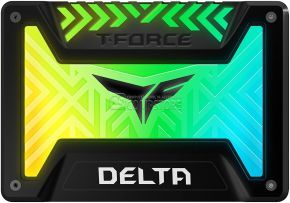 SSD Team Group T-Force Delta 250 GB RGB 3D Nand 2.5-inch SATA III (T253TR250G3C313)