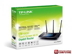 TP-Link AC1900 Touch P5 Gigabit Router Sensor Touch Display