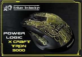 SonicGear Alcatroz X-Craft Tron 5000 Gaming Mouse