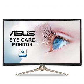 ASUS Curved 31.5 (VA327H) Monitor (Full HD 1080P | HDMI | VGA Eye Care)