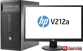 "HP 280 G2 MT (W4A30ES) (Intel® Core™ i3-6100/ DDR4 4 GB/ 1 TB HDD/ DVD RW/ HP V212A 20.7"")"