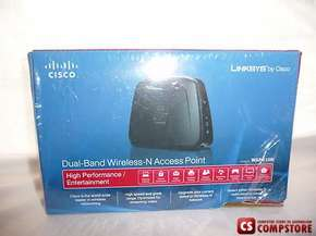 Cisco Linksys WAP610N Wireless-N Access Point with Dual-Band