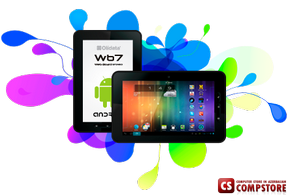 "Планшет OliData WB7 (AllWinner A23 Dual Core 1.5 GHz/ 8 GB/  1 GB RAM/ 7""  TouchScreen/ Android 4.2 Jelly Bean)"