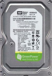 HDD Western Digital 500 GB GreenPower (WD5000AVDS)