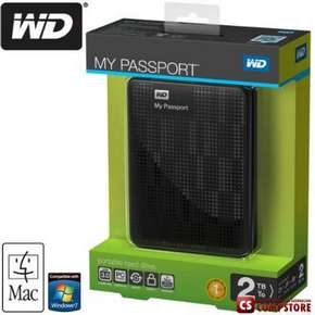 Western Digital My Passport 2 TB External HDD USB 3.0