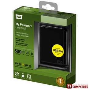 Внешний жесткий диск Western Digital My Passport Essential 500 GB USB3.0