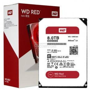 HDD WD RED NAS 8 TB (WD80EFZX) 128 MB Cache