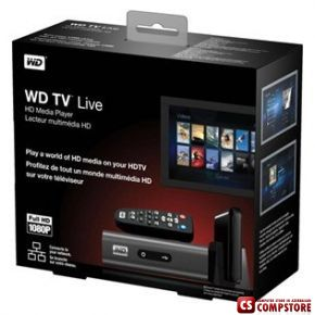 Western Digital TV HD Live (WDBAAP0000NBK-EESN)