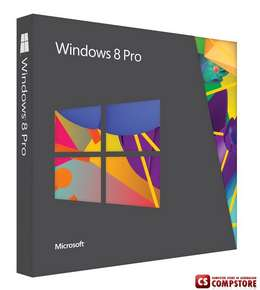Microsoft Windows 8 Pro 64 bit OE, English Version (FQC-05955)