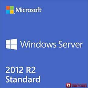 [P73-06165] Microsoft Windows Server Standard 2012 R2 x64 English 1pk DSP OEI DVD 2CPU/2VM
