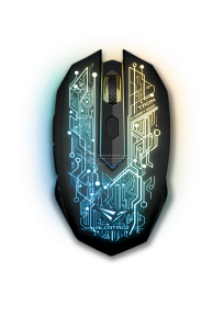 SonicGear Alcatroz X-Craft AIR Tron 5000 Wireless Gaming Mouse