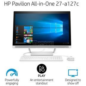 Monoblok HP Pavilion 27-a127c (X6F82AAR) (Intel® Core™ i7-6700T/ DDR4 16 GB/ HDD 1 TB/ IPS Full HD 27 Touch/ GeForce GT930MX 2 GB/ DVD/ Win10)