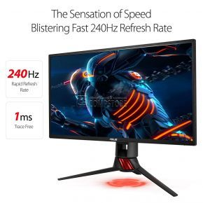 ASUS ROG Strix XG258Q Gaming Monitor 25 inch (Full HD 1080| HDMI | 240 Hz | AURA RGB | FreeSync™)