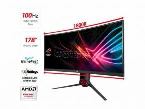 ASUS ROG Strix XG35VQ 35-inch Curved  Gaming Monitor  (UWQHD | HDMI | 1440p | 100Hz | GameFast | FreeSync™)