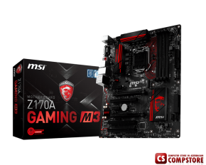 Mainboard MSI Enthuastic Gaming Intel Z170A M3 (LGA 1151 DDR4 USB 3.1)