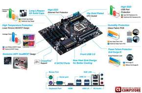 Mainboard Gigabyte GA-Z87P-D3 (Intel®  Z87 Chipset 1150 Socket)