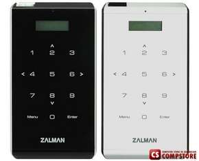 "Zalman ZM-VE400BK Black (EXT BOX для внешнего 2.5""SATA HDD, USB3.0, Al, AES256bit, эмулятор CD / DVD / Blu-ray)"