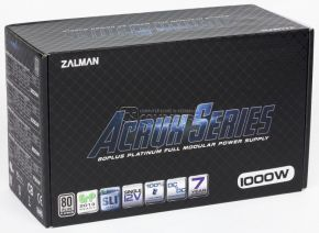 ZALMAN ZM1000-ARX ATX 1000W 80 PLUS Platinum Modullar Power Supply