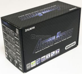 ZALMAN  ZM1200-ARX  80 PLUS PLATINUM 1200W Modullar Power Supply