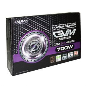 ZALMAN ZM700-GVM 700W 80 PLUS Bronze Semi-Modular Cable Power Supply