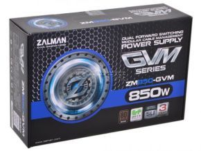 ZALMAN ZM850-GVM 850W 80 PLUS Bronze Dual Forward Converter Circuit Design Power Supply