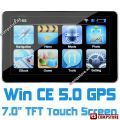 "GPS навигатор 7.0"" TFT LCD Sensitive Touch WIN CE 5.0 Car GPS Navigation ( Music/  Movie/ eBook/ Calculator/ Unit Converter/ 2GB SD)"