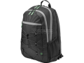 HP Active Backpack (Black/Mint Green) 39.62 cm 15.6-inch (1LU22AA)