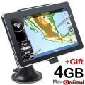 "GPS навигатор 7.0"" TFT LCD Touch WIN CE 5.0 Car GPS Navigation (Bluetooth/ Music/ Movie/ eBook/ Calculator/ 4GB TF)"