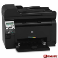 Принтер HP LaserJet Pro 100 color MFP M175a (CE865A)/ ADF/ 2-line LCD (text)/ Hi-Speed USB 2.0/ 128MB/ 600 MHz/