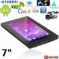 "Планшет ""Hyundai""  7"" Capacitive Touch Android 4.0.3 OS Tablet PC with WiFi/Camera (CPU 1200.0MHZ /RAM 368.3MB /8GB HD)"