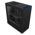 NZXT S340 BLACK/BLUE Mid Tower Gaming Case (CA-S340MB-GB)